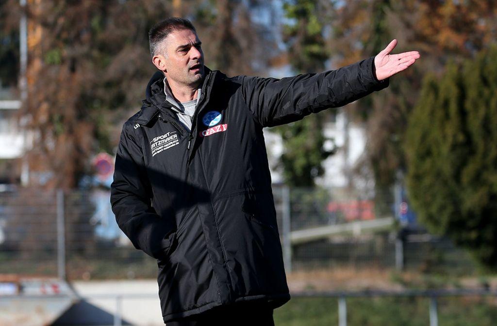 Gibt die Richtung vor im Unterbau der Kickers: Marijan Kovacevic. Foto: Baumann