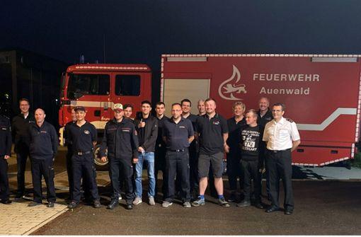 Feuerwehren aus Rems-Murr eilen zur Hilfe