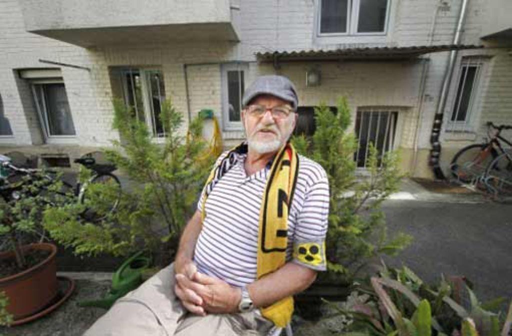 Der Rentner Dietrich Wagner ist seit dem Einsatz im Schlossgarten fast blind. Foto: factum/Granville