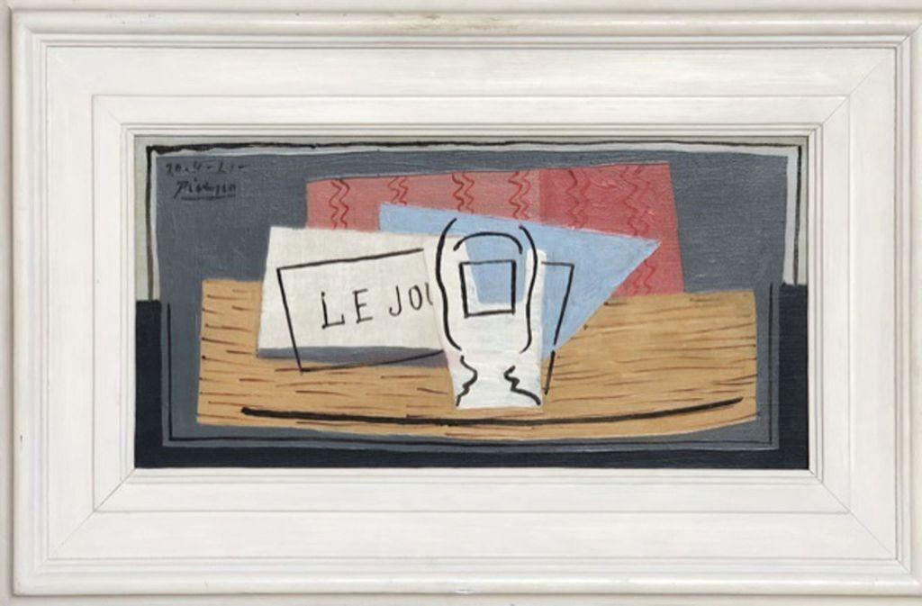 """Bei der Lotterie wird das Picasso-Gemälde """"Nature Morte"""" versteigert. Foto: //Aider les Autres"""