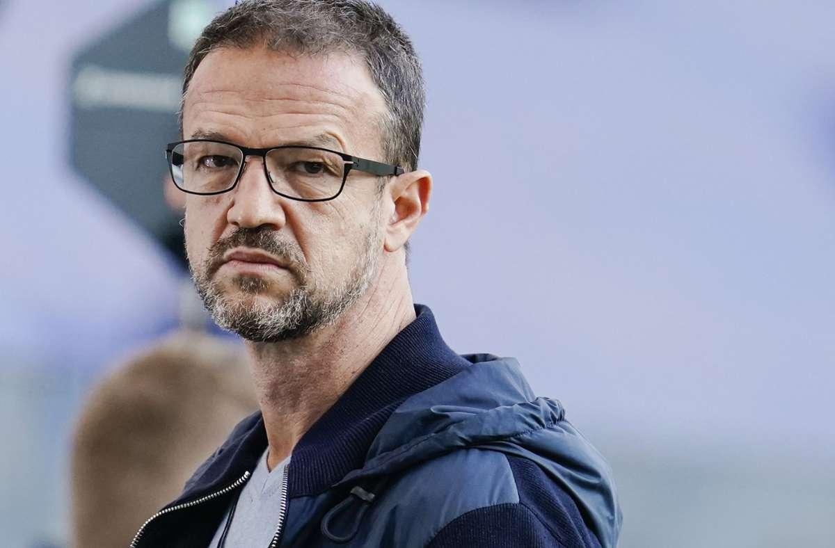 Fredi Bobic will nach eigenen Angaben den Fußball-Bundesligisten Eintracht Frankfurt verlassen. Foto: dpa/Uwe Anspach