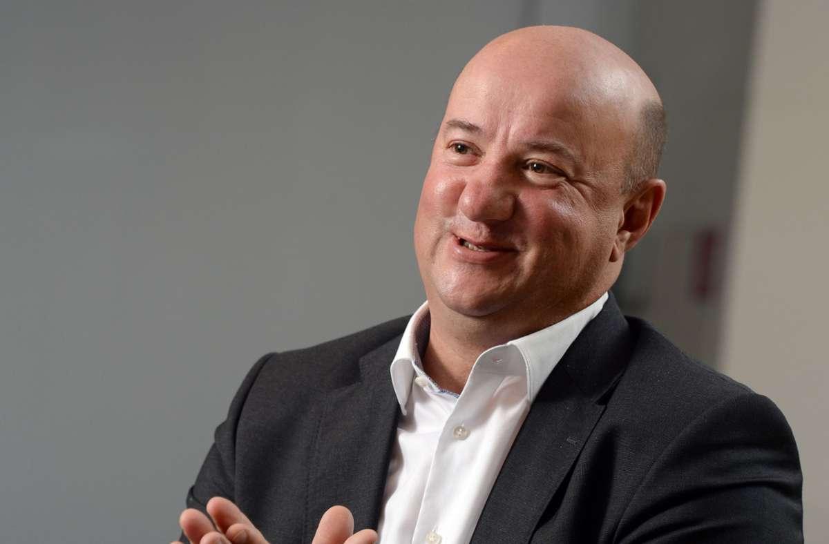 Michael Brecht äußert sich zum Sparkurs bei Daimler. Foto: picture alliance / dpa/Bernd Weissbrod