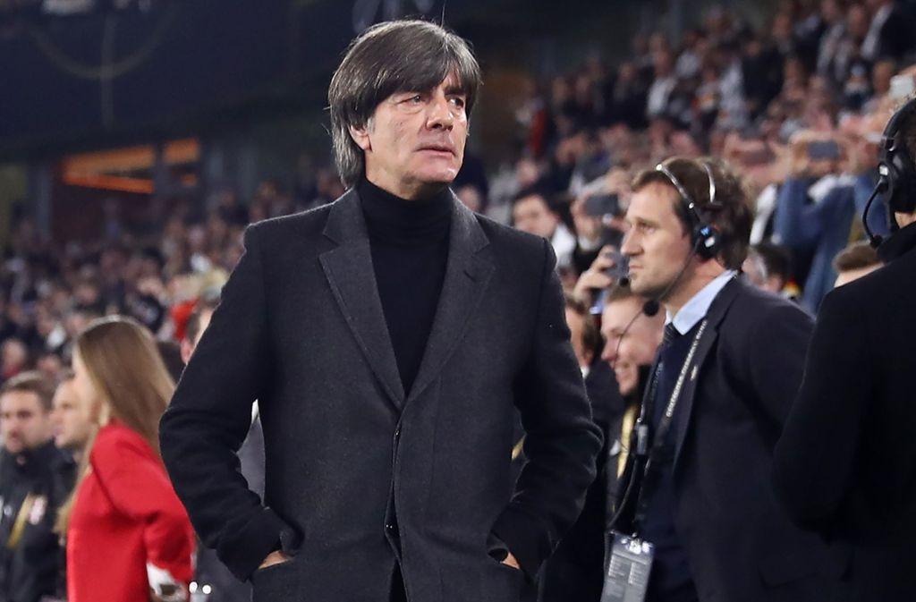Am Sonntag wird es ernst: Für Bundestrainer Joachim Löw und sein Team beginnt in Amsterdam die Qualifikation für die EM 2020. Foto: Getty