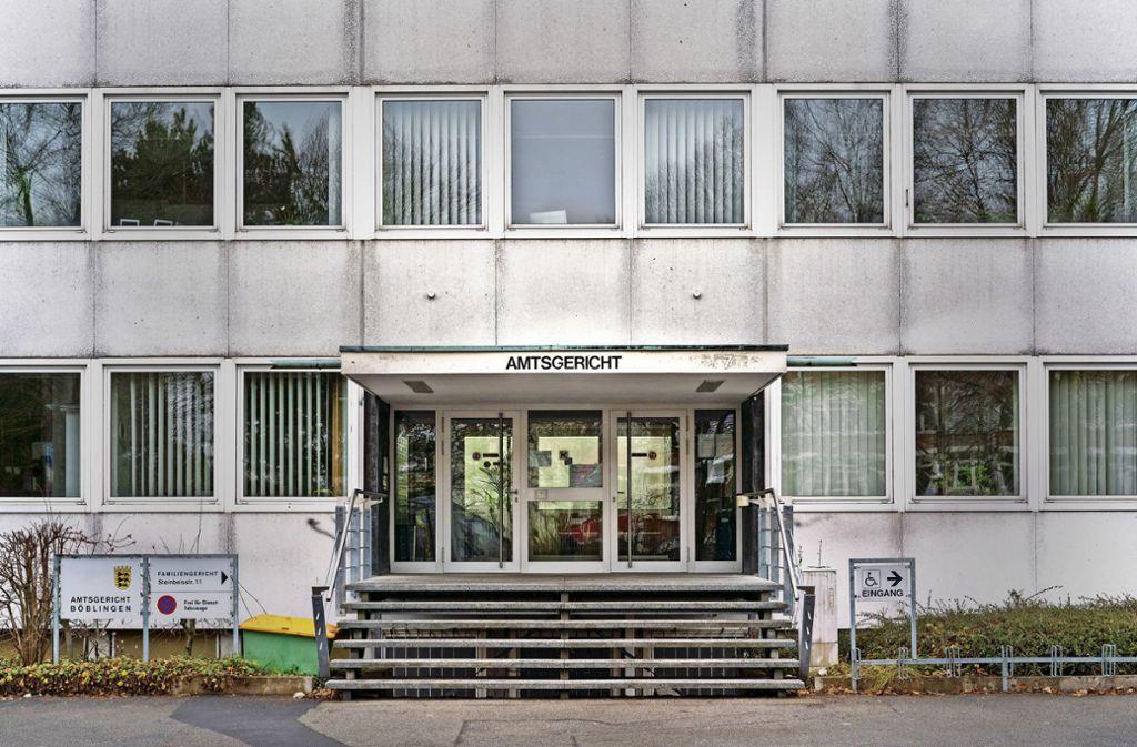 Das Amtsgericht ist in die Jahre gekommen und  sanierungsbedürftig. Foto: factum/Weise