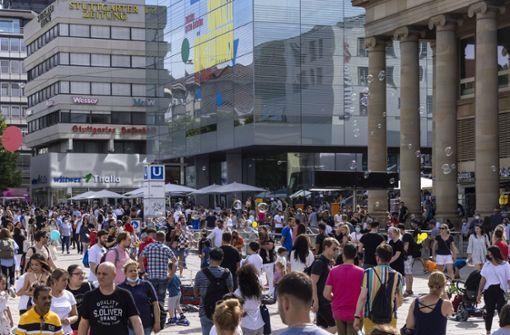 Geringe Zuwanderung lässt Stuttgarts Einwohnerzahl schrumpfen