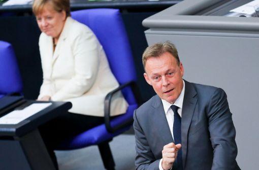 Trauerfeier für Vize-Präsident im Bundestag