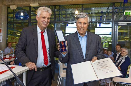 Verdienstkreuz für Günther Bentele