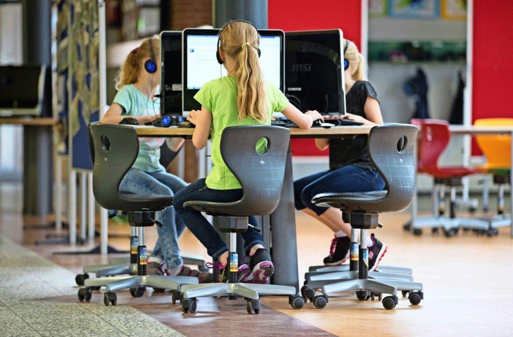 Arbeitsplätze wie diesen an einer preisgekrönten Schule in Niedersachsen wünschen sich Eltern und Pädagogen auch in Stuttgart Foto: dpa