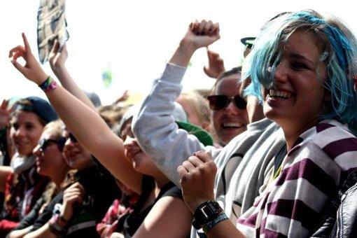 Southside: Gute Laune auf dem Festivalgelände