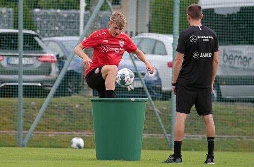 Warum der VfB Stuttgart Luca Mack bindet