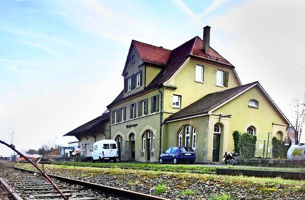 Der verlassene Markgröninger Bahnhof soll reaktiviert werden. Foto: factum/Weise