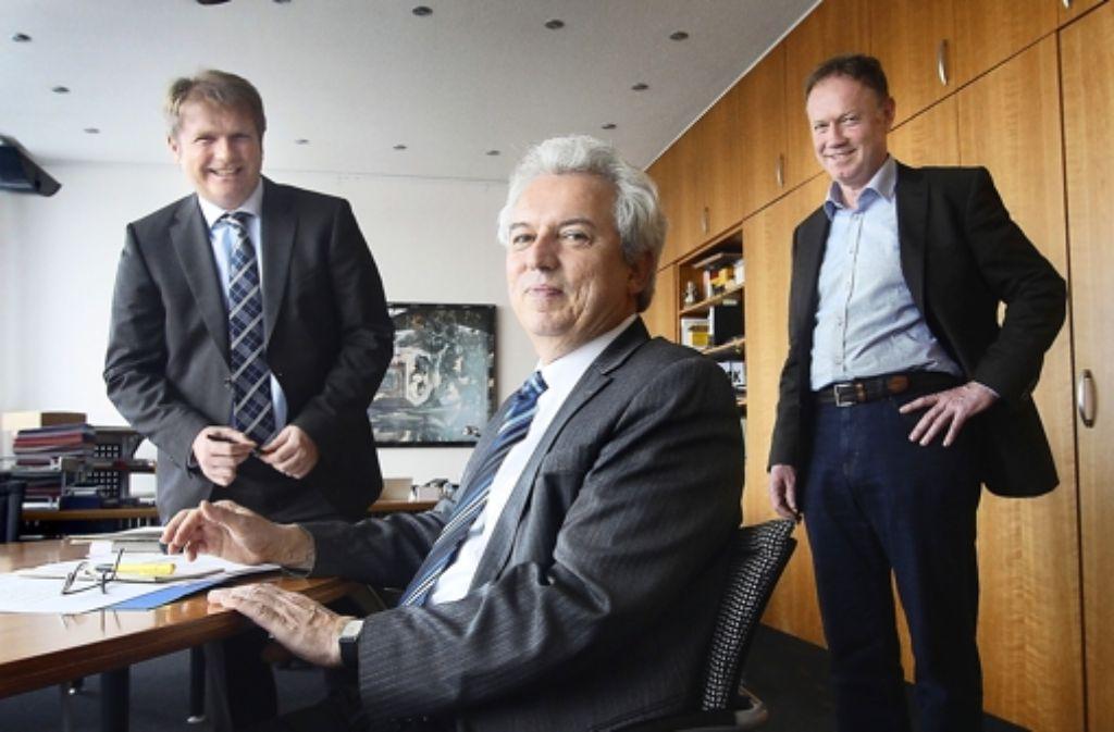 Die Leonberger Rathausspitze darf Bauaufträge nun selbst vergeben. Foto: factum/Granviille