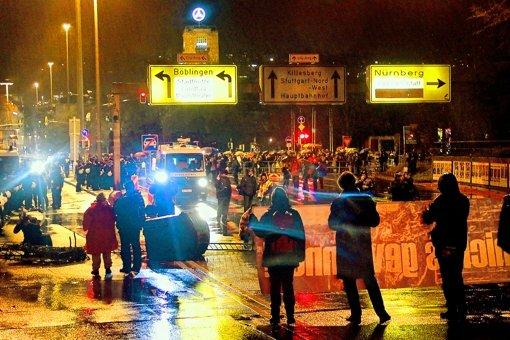 Polizei warnt vor radikalisiertem Protest