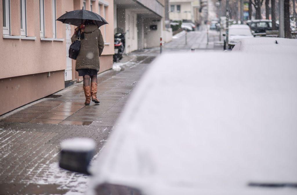 Zwar wird es in den kommenden Tagen kalt in Stuttgart, Schnee gibt es in der Landeshauptstadt aber noch nicht. Foto: Lichtgut/Max Kovalenko