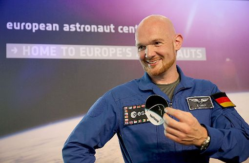 Alexander Gerst auf neuer Mission