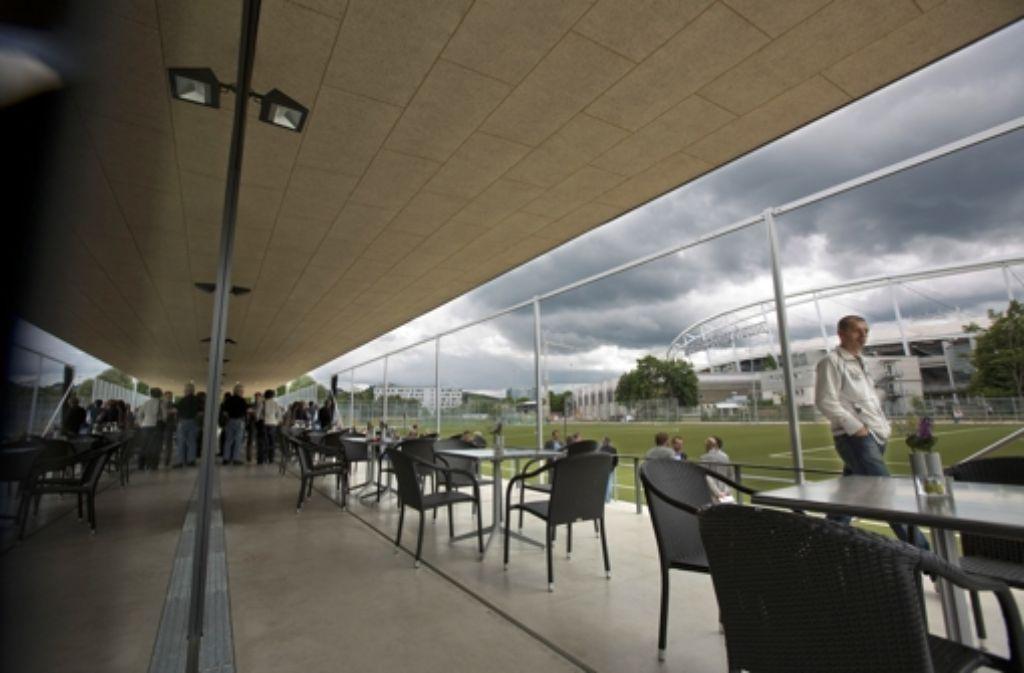 Das neue Sportgelände des VfL Stuttgart am Neckarpark konnte jetzt bezogen werden. Foto: Steinert