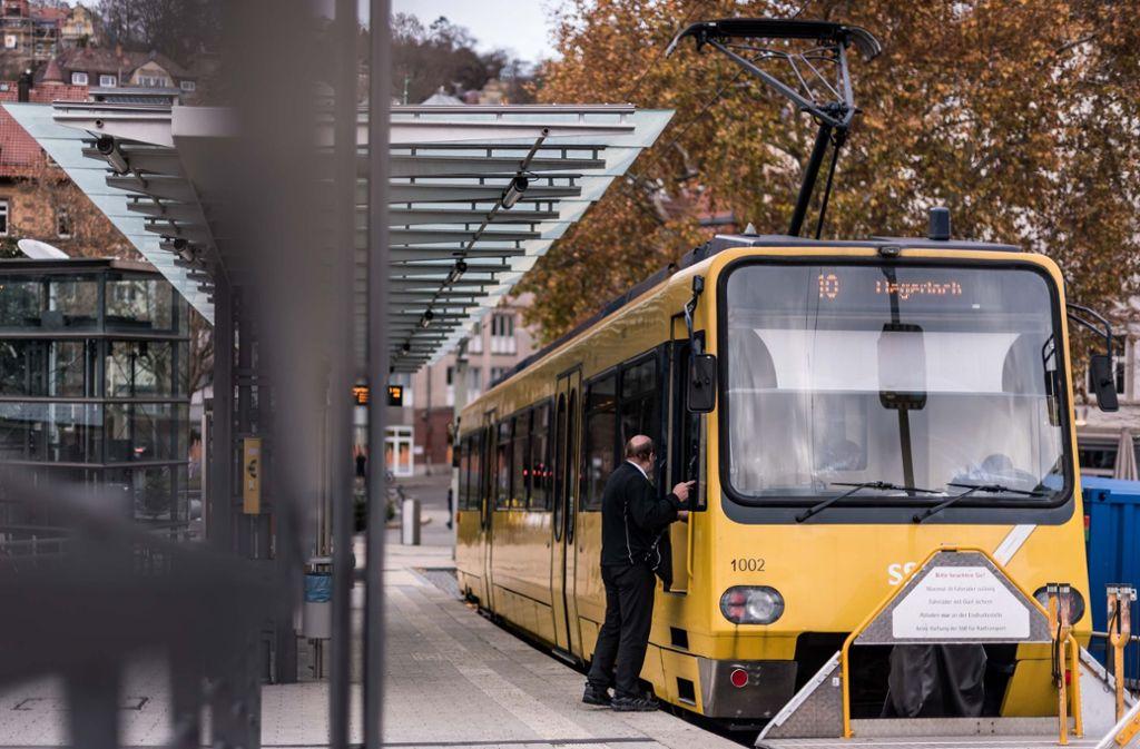 Platz  35: Die Zacke soll abends länger fahren. Derzeit fahren ab 20.45 Uhr nur noch Taxis zwischen dem Marienplatz und Degerloch. Foto: