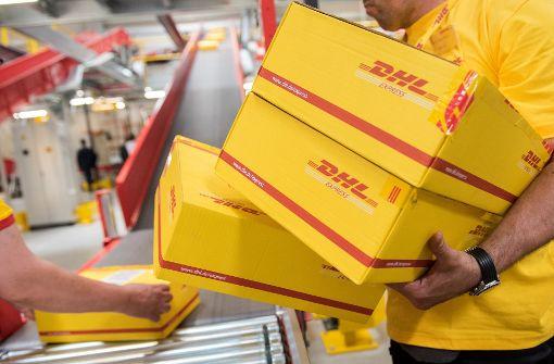 DHL-Paket sorgt für Polizeieinsatz