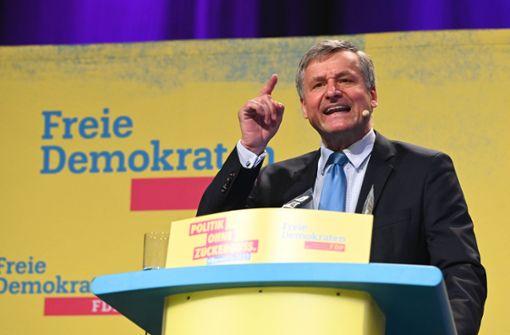 Hans-Ulrich  Rülke wird Spitzenkandidat für Landtagswahl