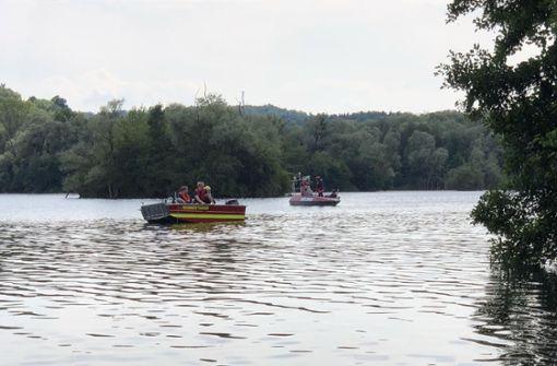 Badeunfall: 27-Jähriger wird in Baggersee vermisst