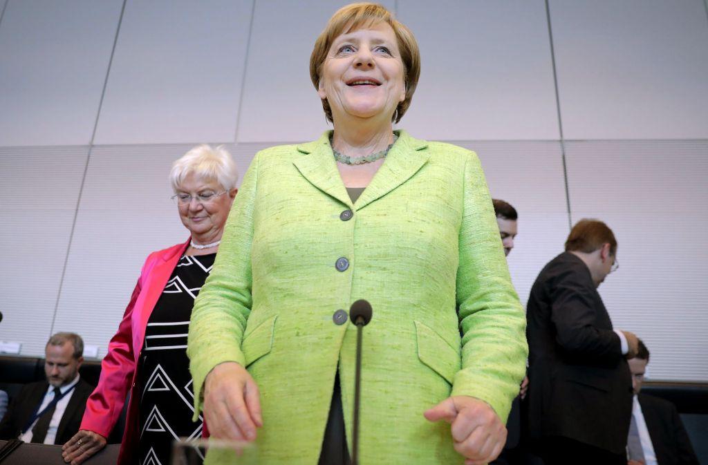 Der MacGyver der Politik: Kanzlerin und Problemlöserin Angela Merkel Foto: dpa