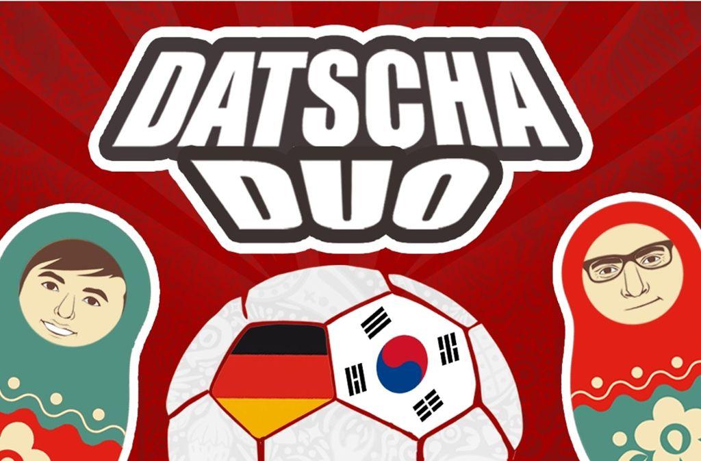 Datscha Duo – der WM-Podcast unserer Redaktion in Kooperation mit Antenne 1. Foto: STZN