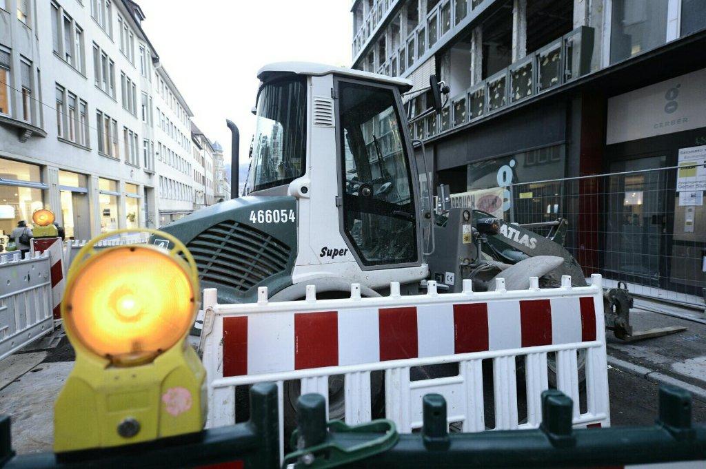 Vor der Eröffnung des Gerbers am 23. September kommt es rund um das neue Einkaufszentrum zu Straßensperrungen. Foto: www.7aktuell.de | Florian Gerlach
