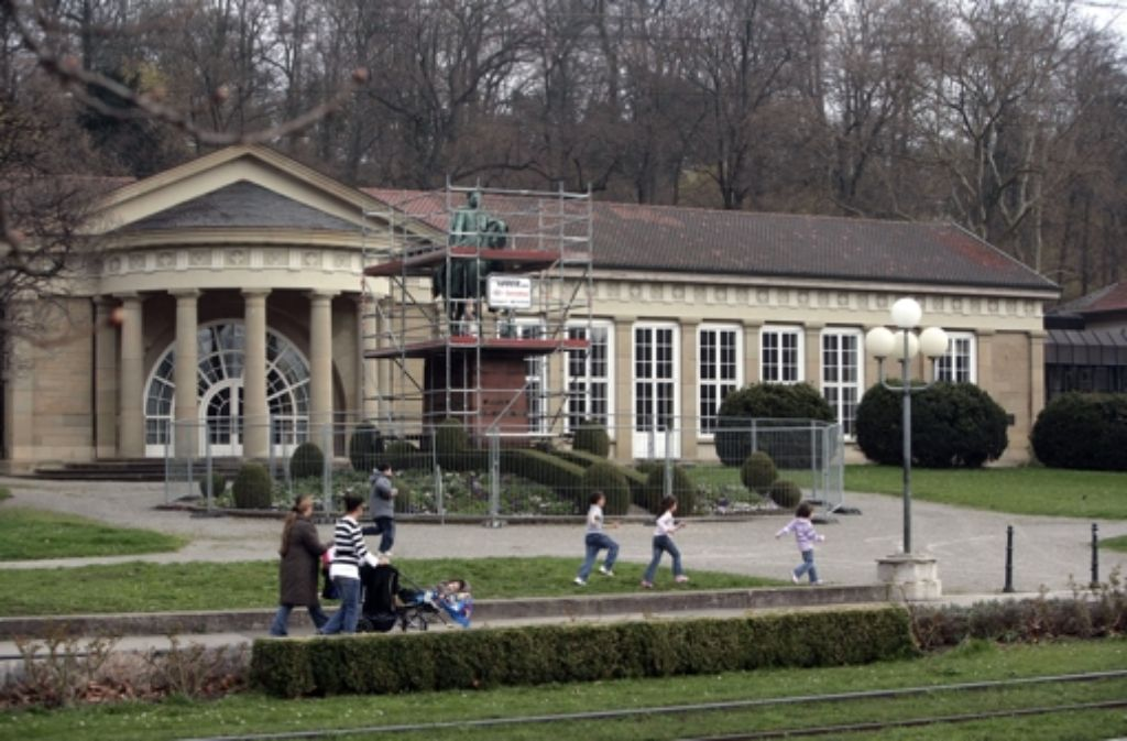 Über die zukünftige Nutzung des Kursaal ist noch nicht entschieden. Foto: Zweygarth