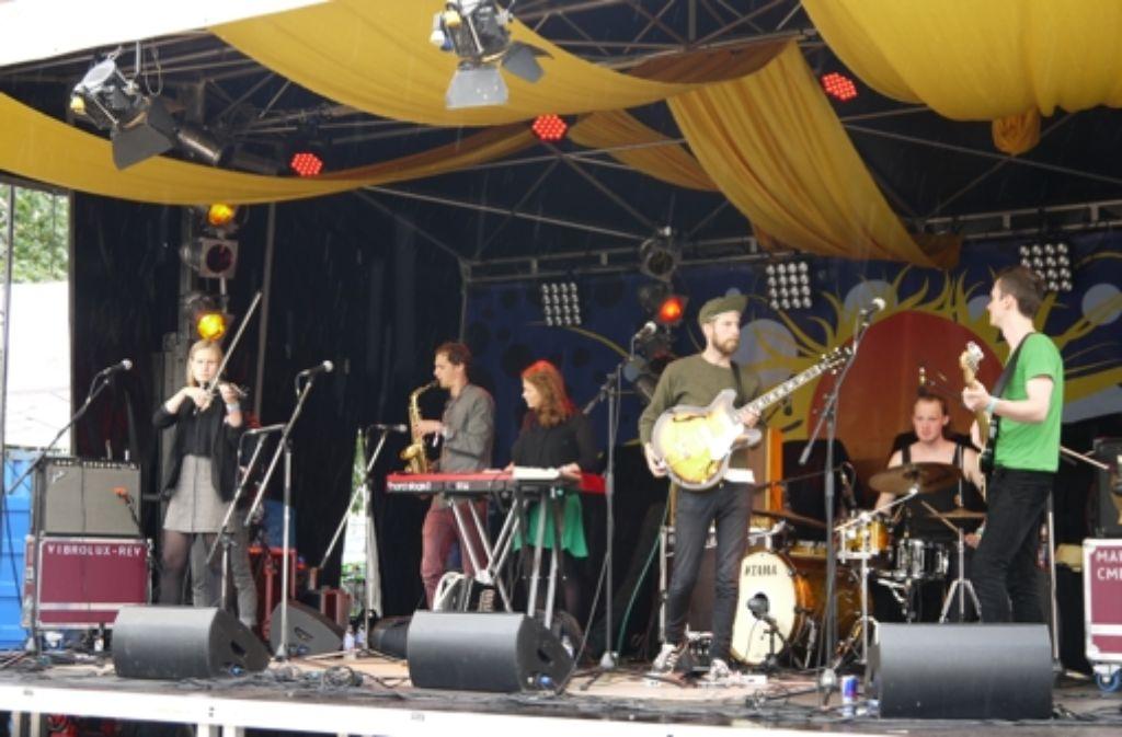 Beim Marienplatzfest wird oft kritisiert, dass die Musik zu laut ist. Foto: Nina Ayerle