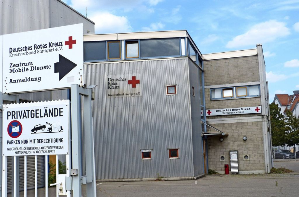 Am 1. Dezember ist die DRK-Rettungswache 3 im Veielbrunnen-Gebiet Geschichte. Foto:
