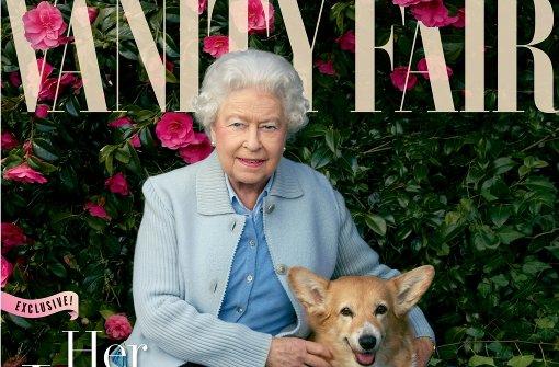 """Die Queen modelt für """"Vanity Fair"""""""