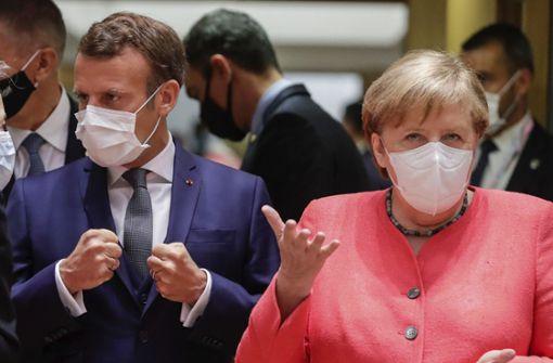 EU ringt um Corona-Milliardenpaket –  Merkel beginnt skeptisch