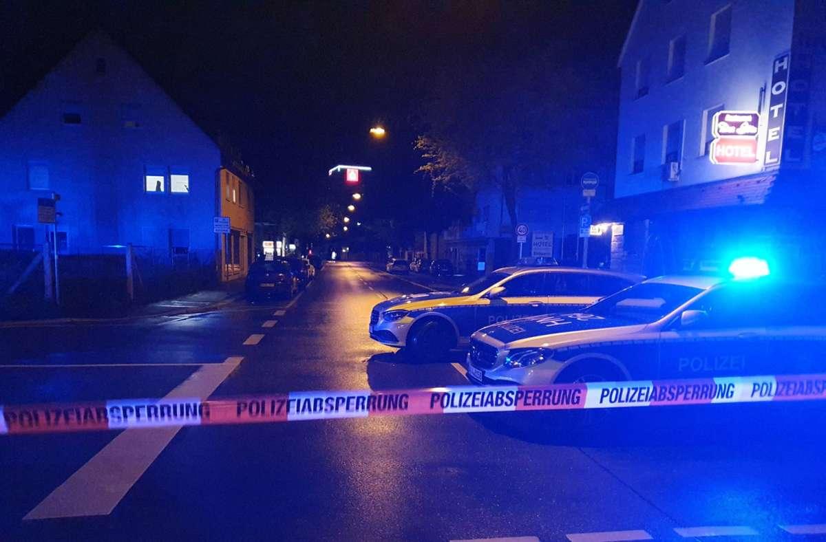 Die Polizei hat mehrere Straßen abgesperrt. Foto: 7aktuell.de/ JB