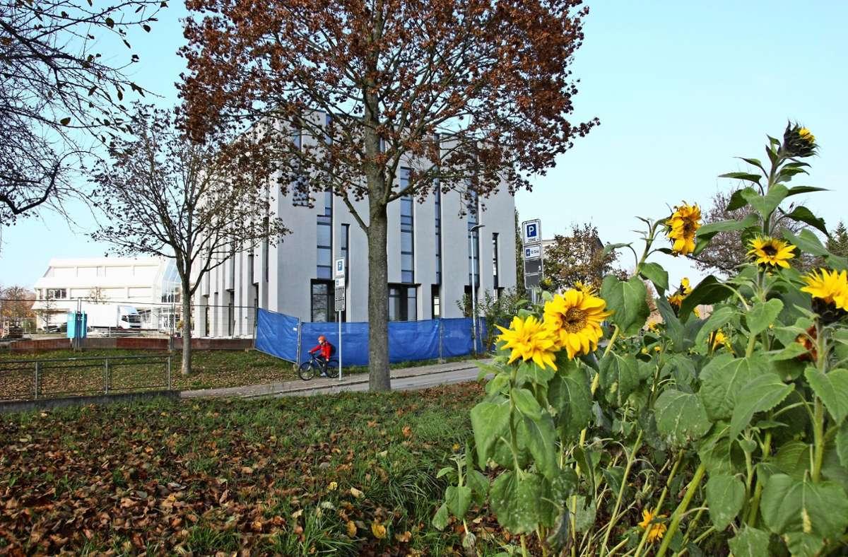 Das Gebetshaus am Rande von Oberaichen ist fast fertig. Foto: Natalie Kanter