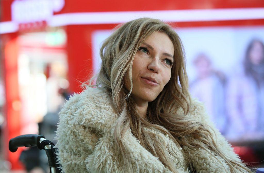 Die Sängerin Julia Samoilova ist seit einer Erkrankung in ihrer Kindheit auf den Rollstuhl angewiesen. Im Mai sollte sie für Russland beim ESC antreten. Foto: Picture Alliance