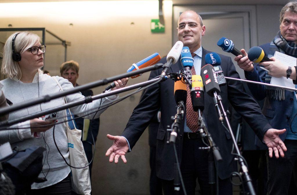 Peter Boehringer (AfD) ist neuer Chef des Haushaltsausschusses. Peter Boehringer (AfD) ist neuer Chef des Haushaltsausschusses. Foto: dpa