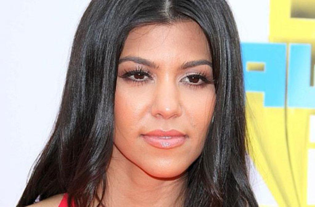 Das amerikanische TV-Sternchen Kourtney Kardashian hat den Namen ihres Neugeborenen verraten. Das jüngste Mitglied des vor allem in den USA bekannten Kardashian-Clans heiße Reign Aston, berichteten US-Medien. Mehr ungewöhnliche Promikinder-Namen finden Sie in unserem Quiz. Foto: dpa