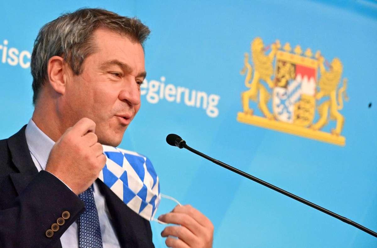 Parteichef Markus Söder wird den CSU-Parteitag mit einer Grundsatzrede starten. Foto: dpa/Peter Kneffel