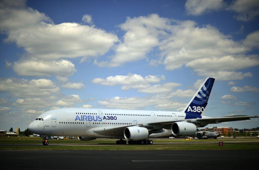 Die A380 sei für die Entwicklungen im Flugverkehr zehn Jahre zu spät gekommen, heißt es von Airbus Foto: AFP