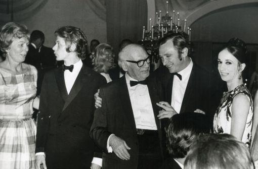 Egon Madsen erinnert sich: Perplex auf der Bühne  der Met