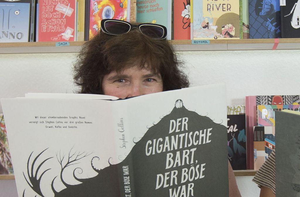 Julia Rein in ihrem Laden Foto: Leif Piechowski