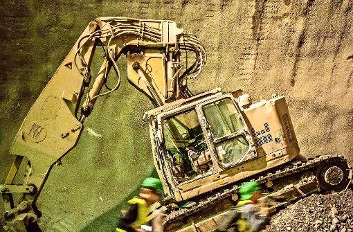 Halbzeit für die Tunnelbauer