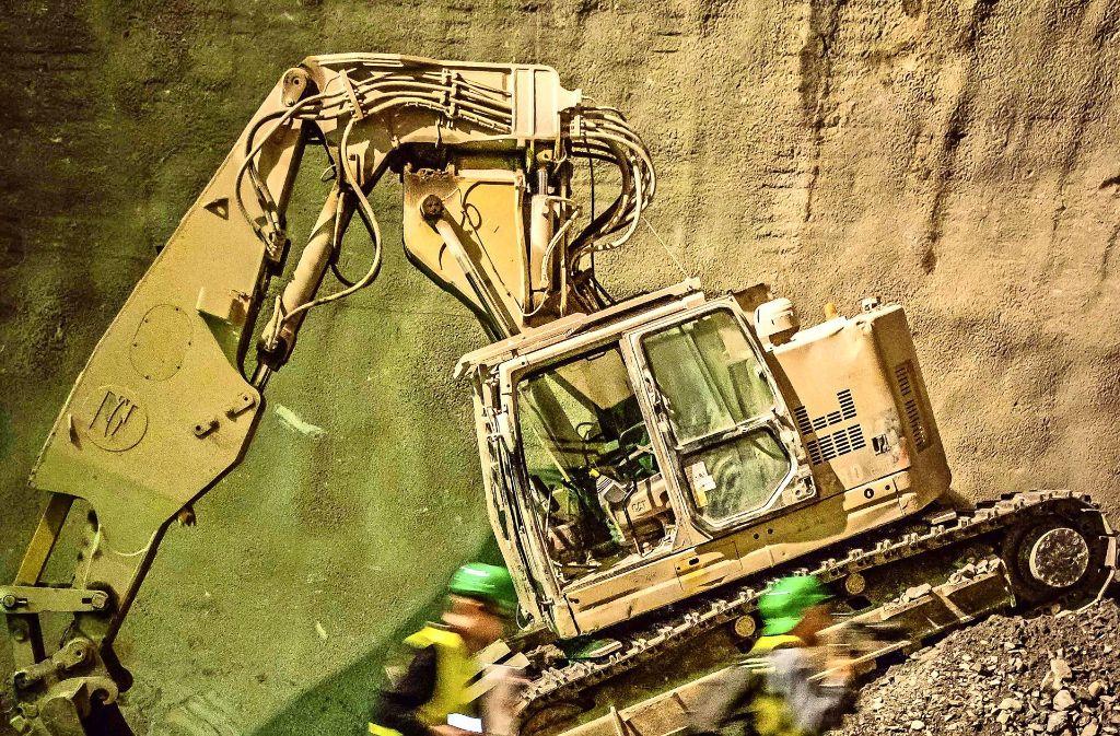 Die Tunnelbauer graben sich durch den Stuttgarter Untergrund. Foto: Lg/Kovalenko