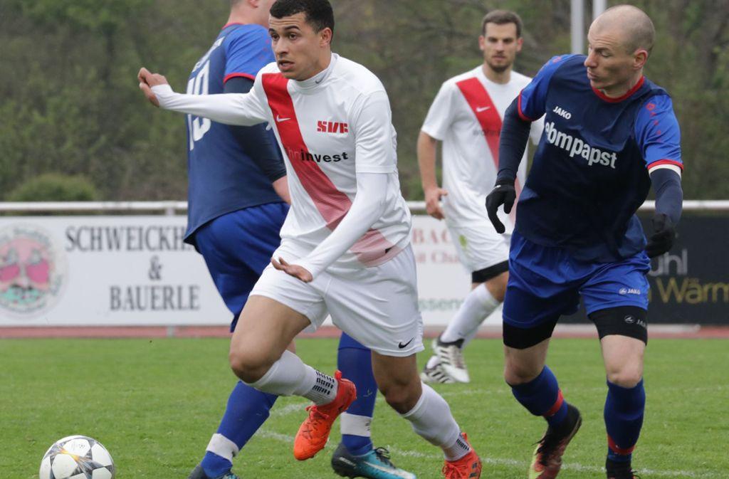 Jamie Miller will sich mit dem SVF in der Verbandsliga zurechtfinden. Foto: Patricia Sigerist