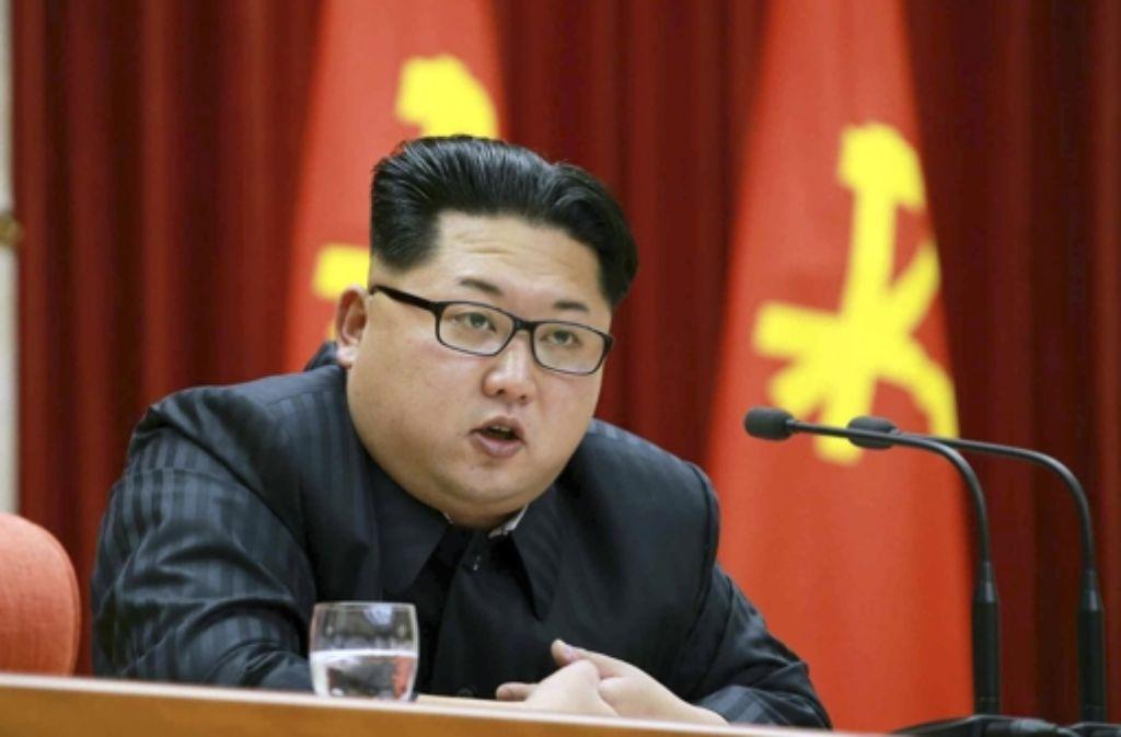 Nordkoreas Staatsoberhaupt Kim Jong-un provoziert die Weltgemeinschaft Foto: dpa