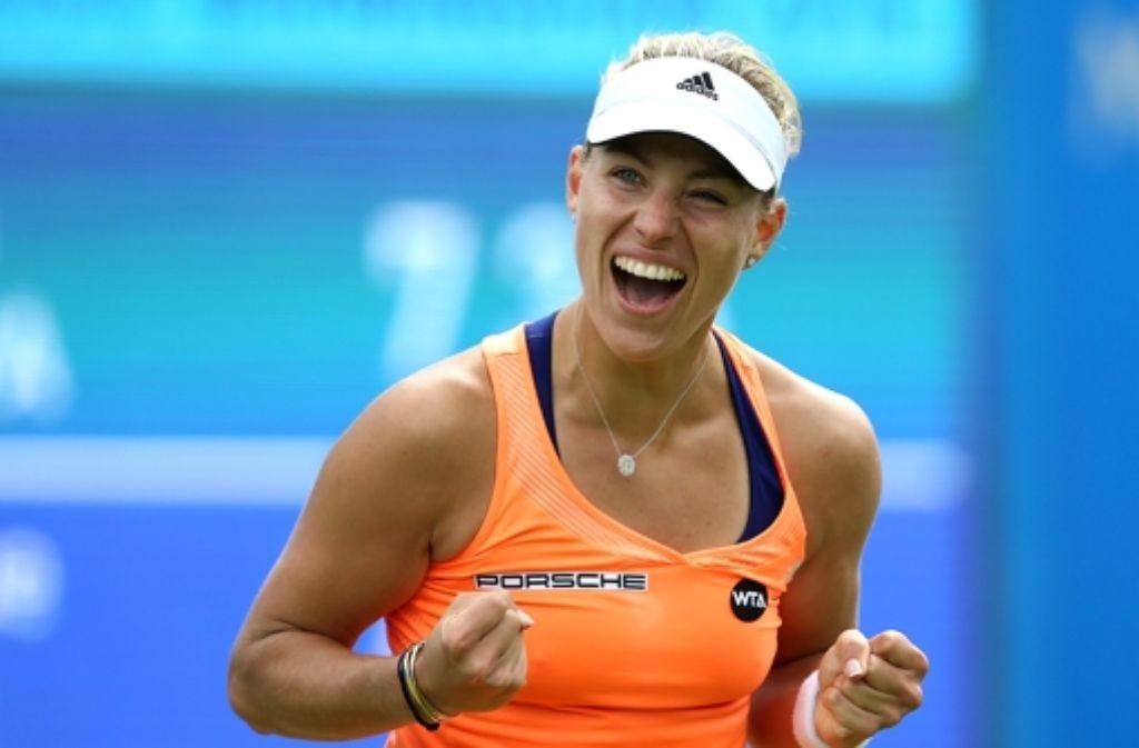 Angelique Kerber hat das WTA-Turnier in Birmingham gewonnen. Foto: Getty Images Europe
