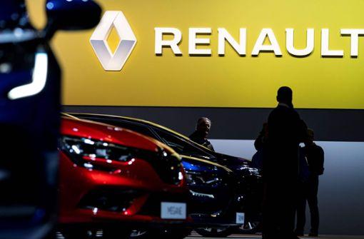 Renault rutscht in die roten Zahlen