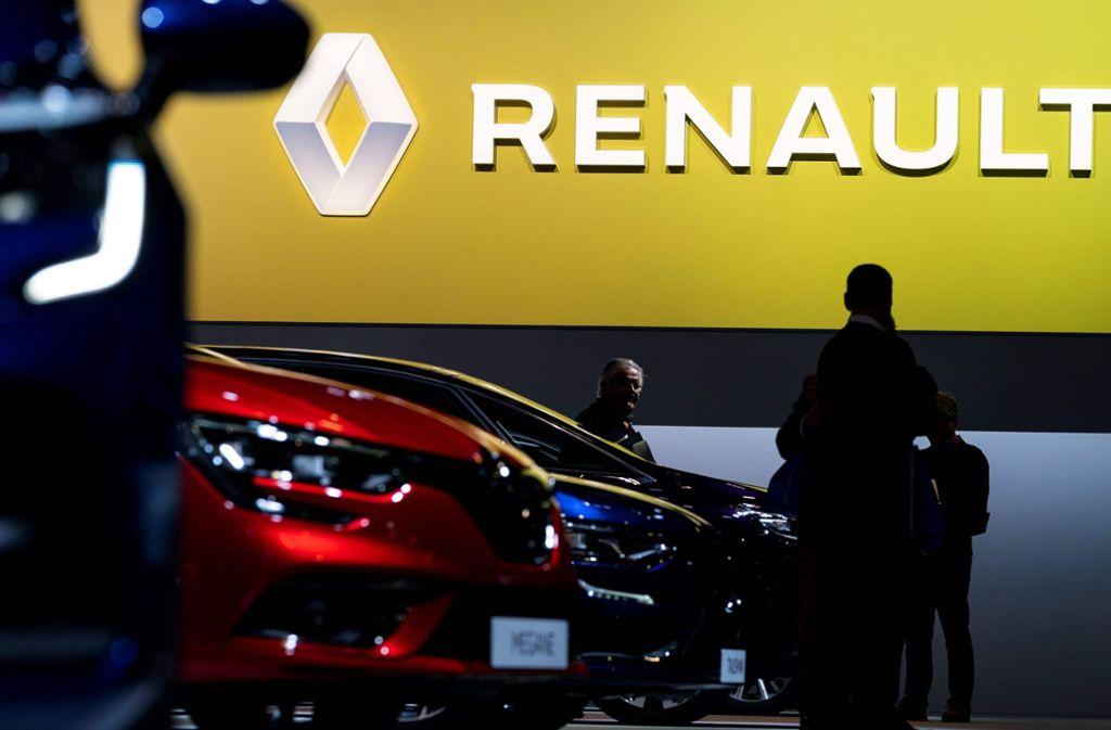 Schlechte Zeiten bei Renault. In den nächsten Jahren steht dem Konzern ein hartes Sparprogramm ins Haus. Foto: AFP/KENZO TRIBOUILLARD