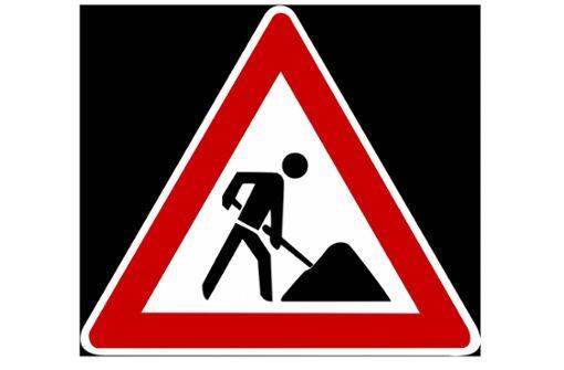 Renninger Straße gesperrt