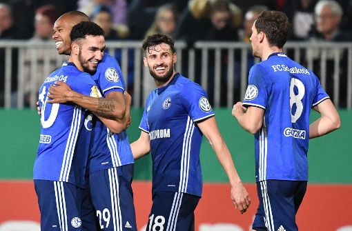 Souveräne Schalker im Pokal-Viertelfinale
